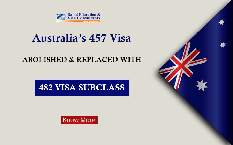 482 VISA SUBCLASS - Rapid Migration