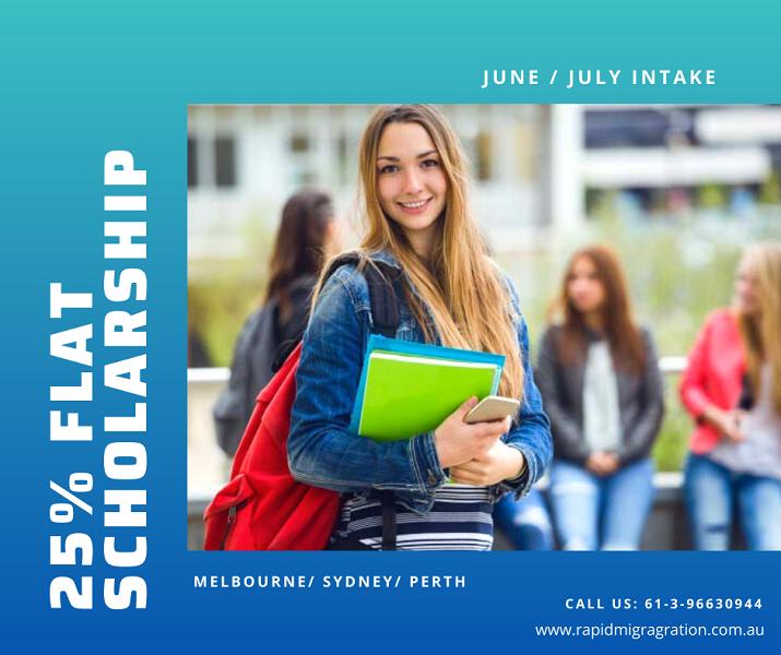 25% flat Scholarship