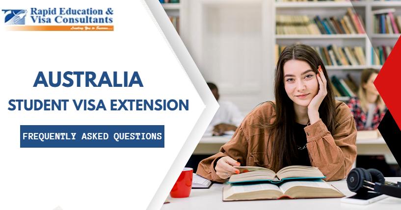 student visa extension FAQS