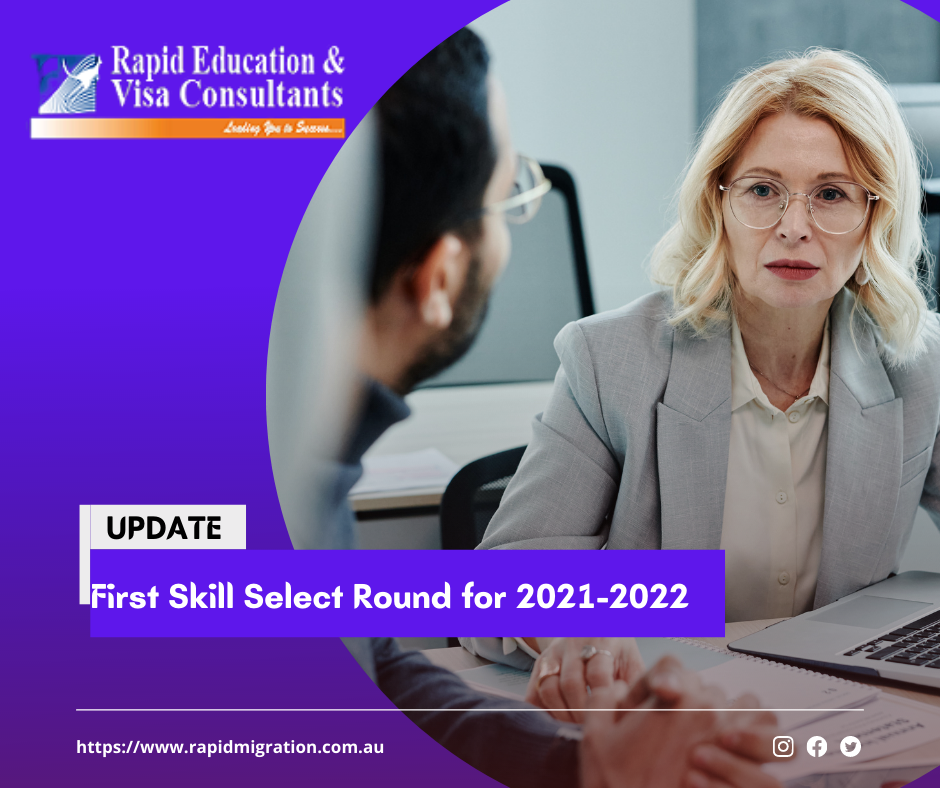 First Skill Select Round for 2021-2022